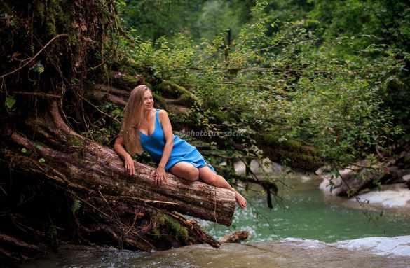 Фотосессия в каньоне Голубая балка Сочи