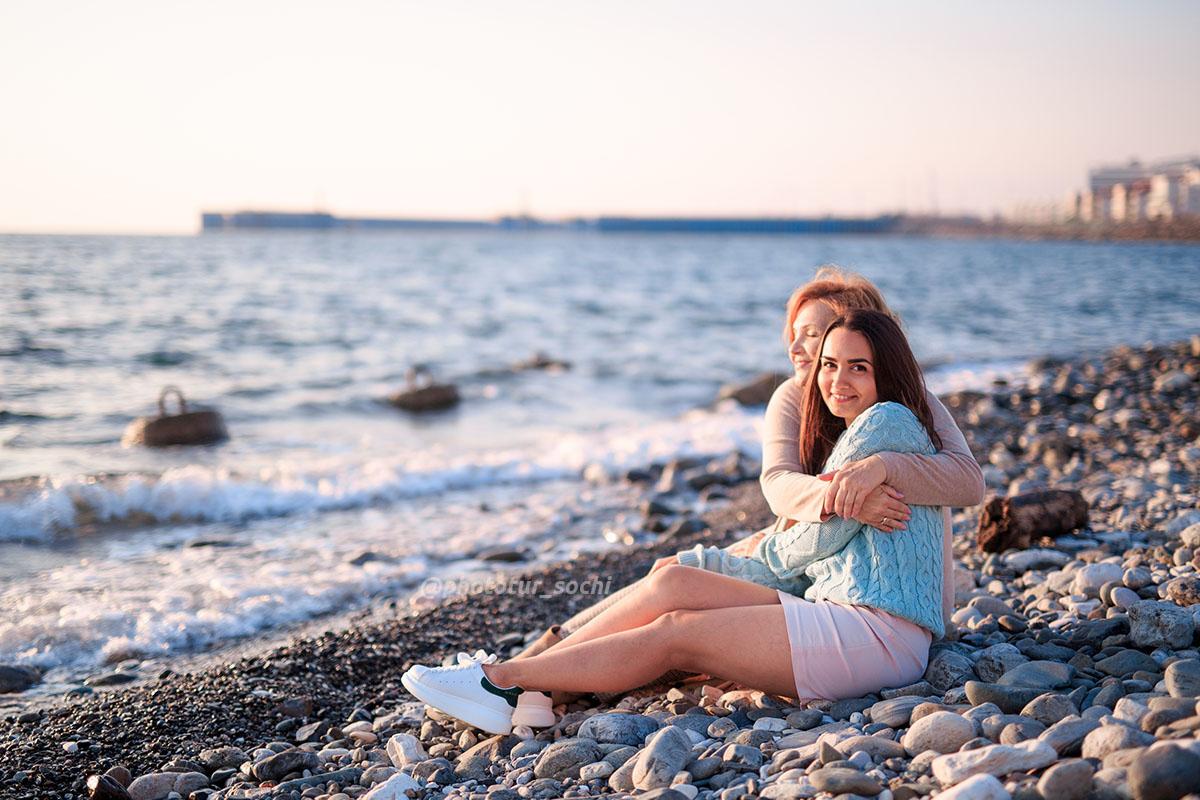 Фотосессия на Имеретинской набережной в Сочи