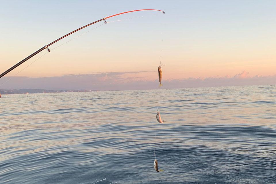 Экскурсия на морскую рыбалку в Сочи