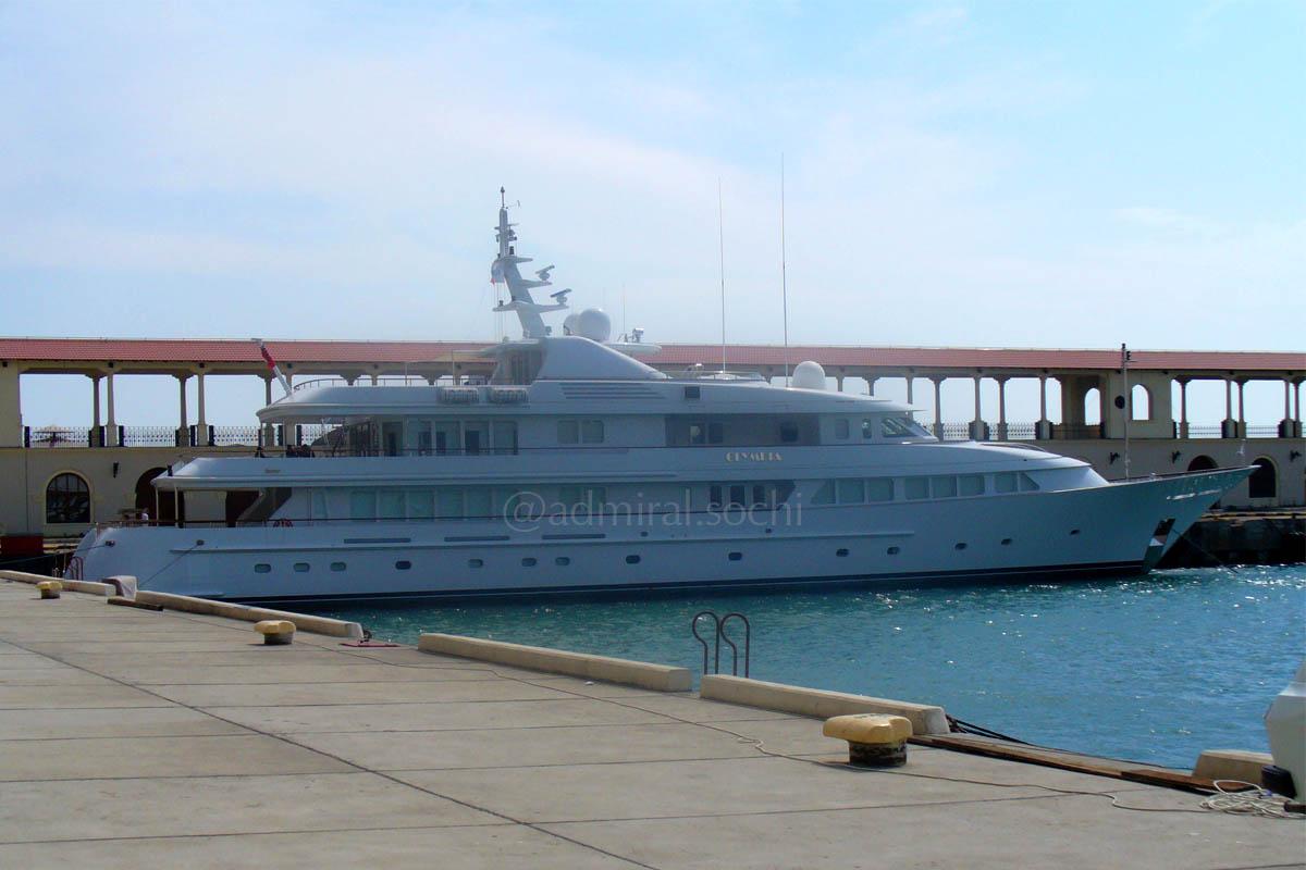 Морской порт Сочи до реконструкции