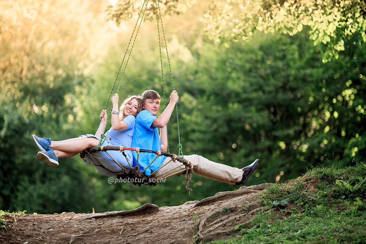 Фотосессия в Солохаул парке в Сочи