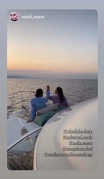 Рассвет на яхте в Сочи фото отзывы