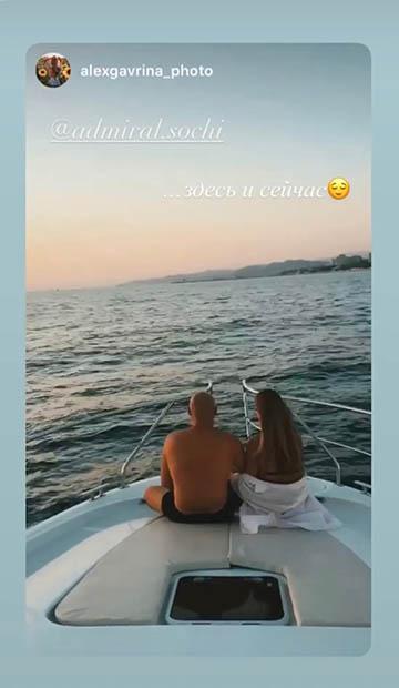 Романтический вечер на яхте в Сочи